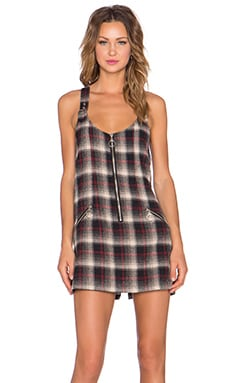 UNIF Detention Dress in Plaid