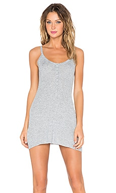 UNIF Parker Mini Dress in Grey
