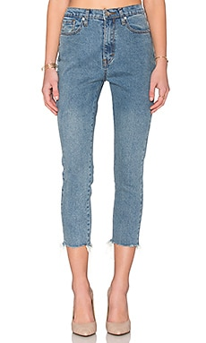 UNIF Set Jeans in Med Blue