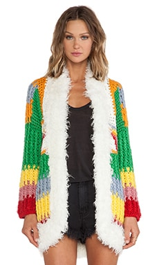 UNIF Hendrix Cardigan in Multi