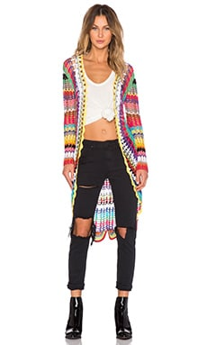 UNIF Mandala Cardigan in Multi