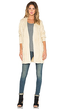 UNIF Reverb Cardigan in Cream