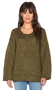 UNIF Mead Sweater in Green