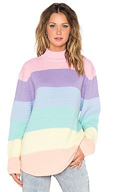 UNIF Frost Sweater in Pastel