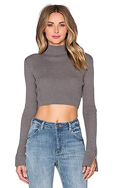 UNIF Ara Sweater in Grey