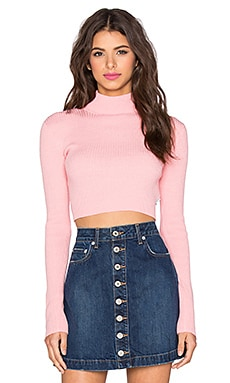 UNIF Ara Sweater in Pink
