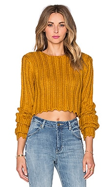 Certa Sweater in Mustard