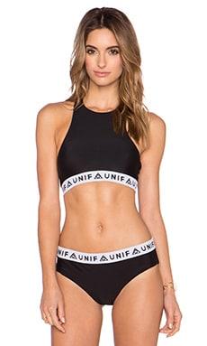 UNIF Pep Bikini Top in Black