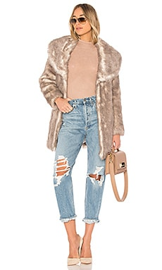 ELIXIR ロングコート Unreal Fur $253