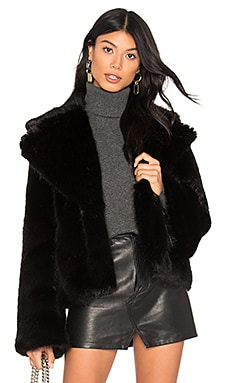 Madam Butterfly Faux Fur Jacket Unreal Fur $339