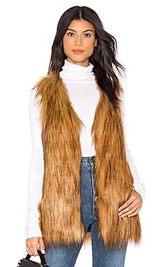 Faux Fur Play Vest Unreal Fur $46 (FINAL SALE)