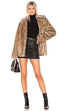 Earth Star Faux Fur Jacket Unreal Fur $359