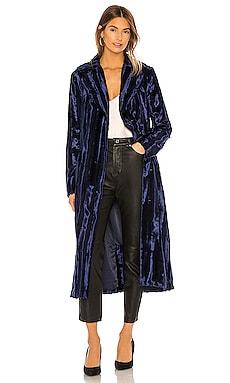 Velvet Underground Coat Unreal Fur $599