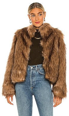 Fur Delish Jacket Unreal Fur $399