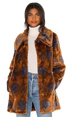 Nostalgia Coat Unreal Fur $449