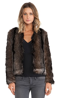 Unreal Fur Unreal Dream Jacket in Natural