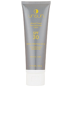 Mineral Tinted Face Sunscreen SPF 30 UnSun Cosmetics $29