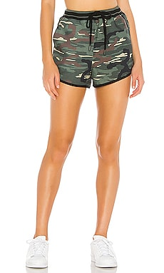 Army Camo High Waisted Short THE UPSIDE $77