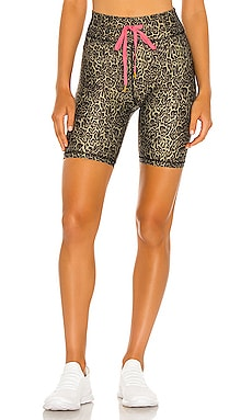 Leopard Spin Short THE UPSIDE $90