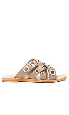 Karly Sandal in Light Grey
