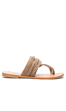 Deck Sandal in Taupe