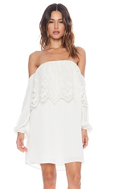 VAVA by Joy Han Nina Off Shoulder Dress in White