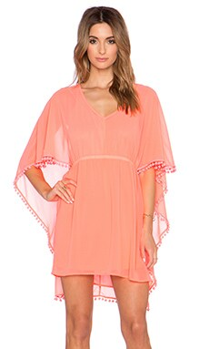VAVA by Joy Han Caroline Dress in Neon Pink