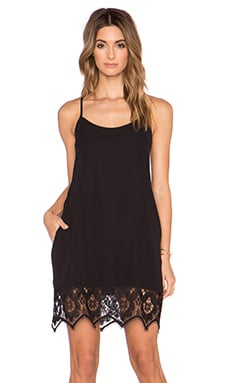 VAVA by Joy Han Regina Slip Dress in Black