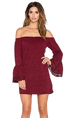 VAVA by Joy Han Hyria Dress in Maroon