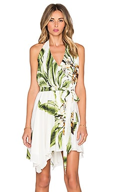VAVA by Joy Han Irisia Babydoll Dress in Green