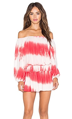 VAVA by Joy Han Eliya Off Shoulder Dress in Red
