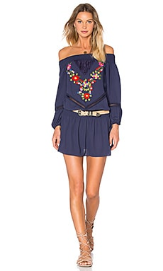 VAVA by Joy Han Kacie Dress in Navy