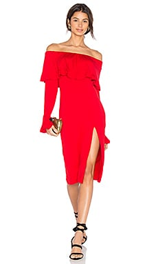 Edita Dress in Red