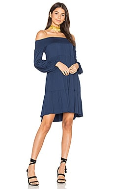 Darline Dress in Navy