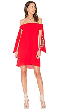 Engleberta Dress in Red