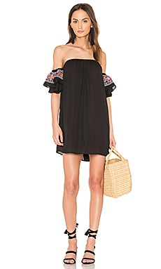Lotus Dress in Black