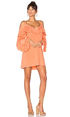 Shauna Dress in Light Coral
