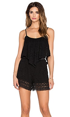 VAVA by Joy Han Suri Romper in Black