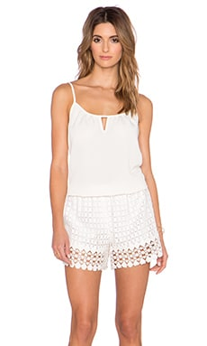 VAVA by Joy Han Nikita Romper in White