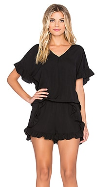 VAVA by Joy Han Magdelne Romper in Black