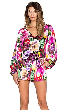 VAVA by Joy Han Esther Romper in Fuchsia
