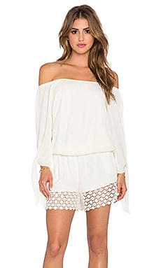 VAVA by Joy Han April Romper in Ivory