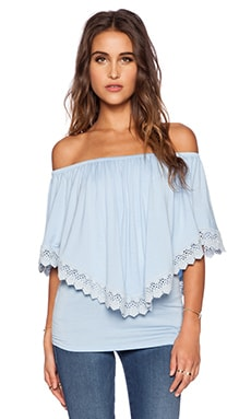 VAVA by Joy Han Halle Convertible Top in Baby Blue