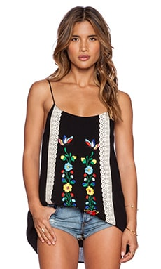 VAVA by Joy Han Lara Cami Top in Black