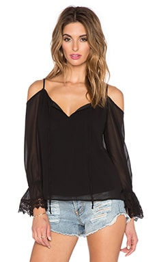 VAVA by Joy Han Caroline Top in Black