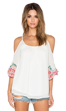 VAVA by Joy Han Poppy Top in Off White
