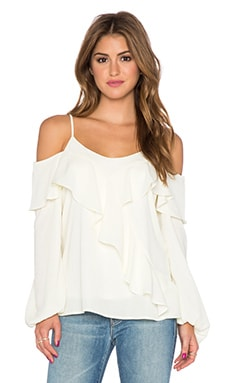 VAVA by Joy Han Joan Long Sleeve Top in Off White