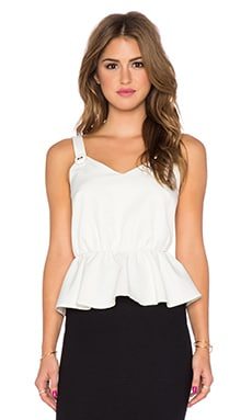 VAVA by Joy Han Karen Tank in White