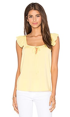 VAVA by Joy Han Fanya Sleeveless Top in Yellow