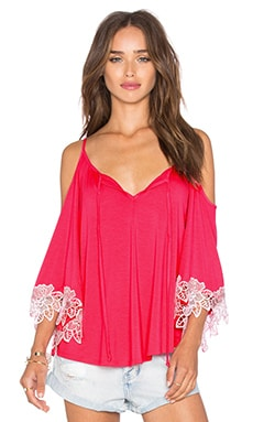 Shanta Open Shoulder Top